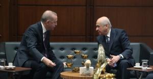 Cumhurbaşkanı Erdoğan, MHP Genel Başkanı Bahçeli İle Görüştü