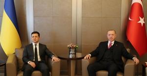 Cumhurbaşkanı Erdoğan, Ukrayna Devlet Başkanı Zelenskiy ile Huber Köşkü'nde Görüştü