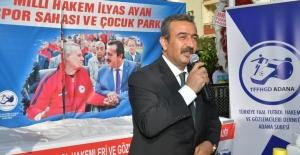 Efsane Hakemin Adının Verildiği Park Başkan Soner Çetin Tarafından Açıldı
