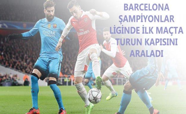 Barcelona Deplasmanda Arsenal'ı 2-0 Yendi