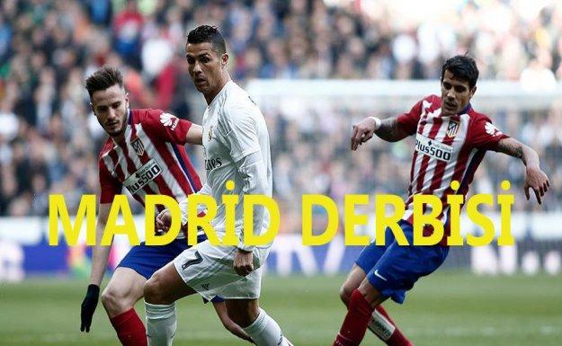 Atletico Madrid Deplasmanda Real Madrid'i 1-0 Yendi