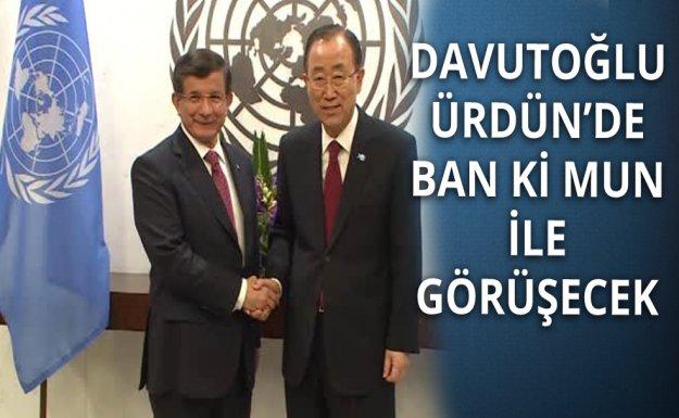 Başbakan Davutoğlu, Ban Ki Mun İle Görüşecek