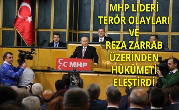 MHP Lideri: Terörizm Altın Çağını Yaşamaktadır