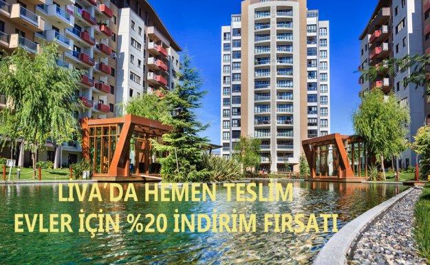 Sinpaş Liva'da Hemen Teslim Evlerde Son Fırsatlar