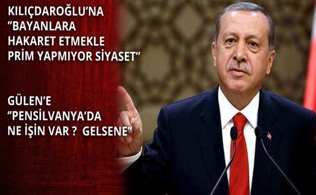 Cumhurbaşkanı Gülen Ve Kılıçdaroğlu'na Yüklendi