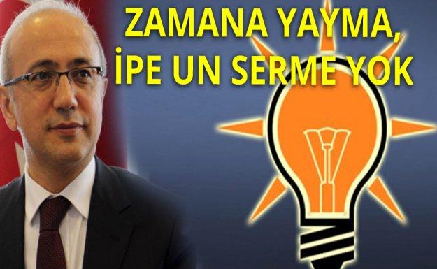 Anayasa Çalışmalarına Erteleme Haberlerine AK Parti'den Cevap Geldi