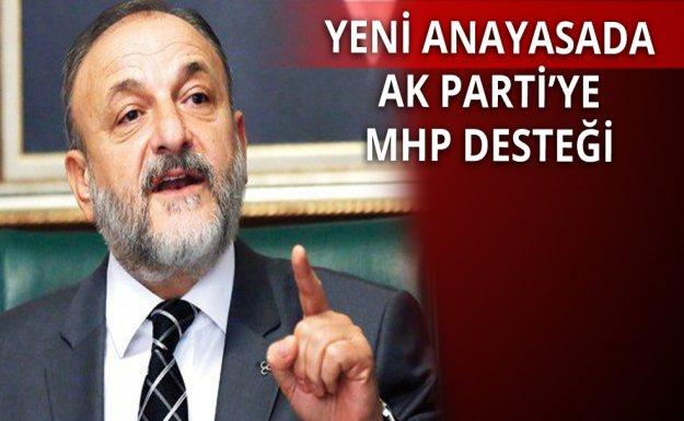 AK Parti'ye MHP'den Destek