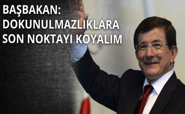 Davutoğlu CHP Ve MHP'den Destek İstedi