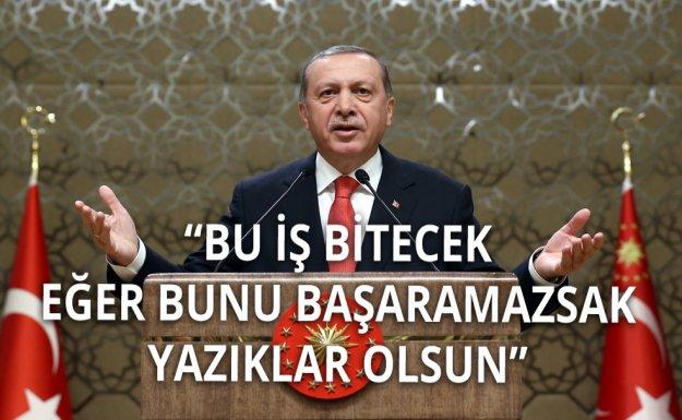 Cumhurbaşkanı Erdoğan: Artık Harekete Geçme Zamanı