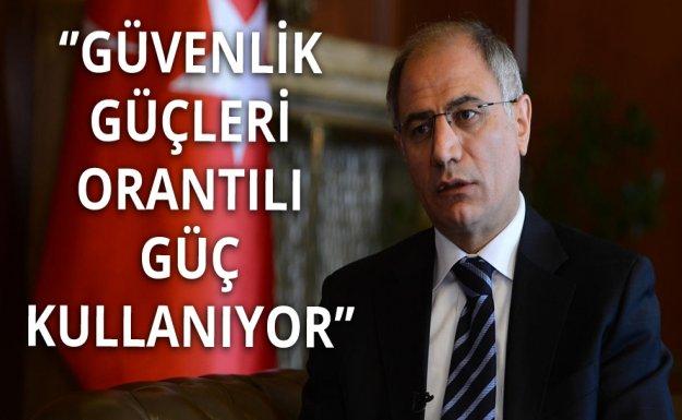 İçişleri Bakanından Orantılı Güç Açıklaması