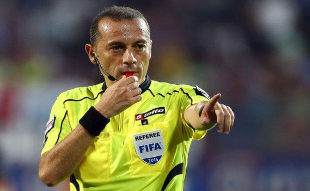 Cüneyt Çakır'a UEFA'dan Dev Görev