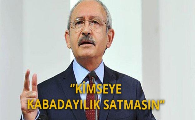 Kılıçdaroğlu: Ya Laik Devlete İnan Yada Koltuğu Terk Et