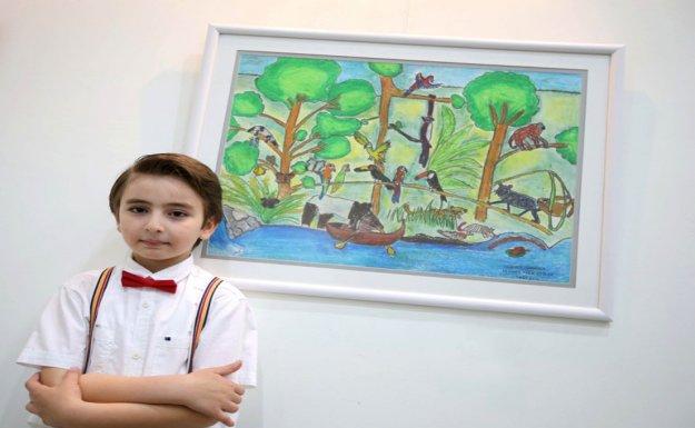 Karşıyaka Belediyesi'nden ''Çocuk Gözüyle Kıtalar''