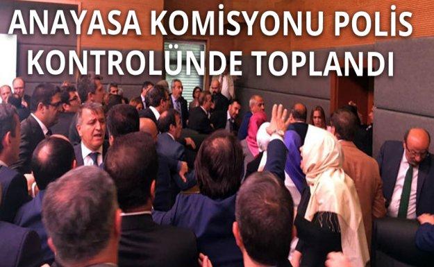 Anayasa Komisyonuna Polis Kontrolü