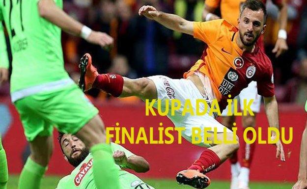 Kupada İlk Finalist Galatasaray Oldu
