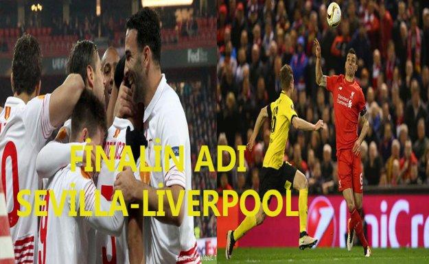 UEFA Avrupa Ligi'nde Finalin Adı Sevilla-Liverpool