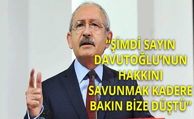 Kılıçdaroğlu: Başbakanmı, Saraya Uşakmı Arıyorsunuz?
