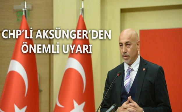 CHP'li Aksünger: Sarraf Davasında Tehlikenin Farkında Mısınız?