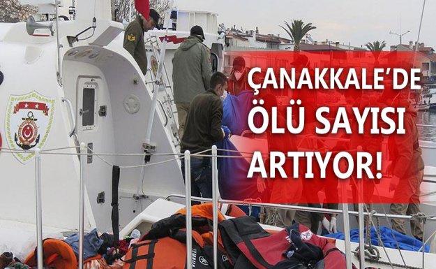 Çanakkale'de Mültecileri Taşıyan Tekne Battı