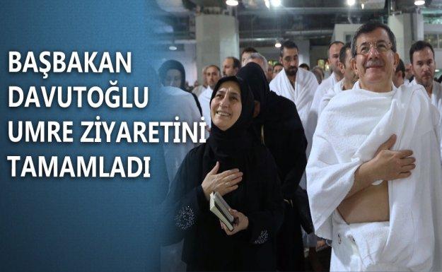 Başbakan Davutoğlu Medine'ye Geçti