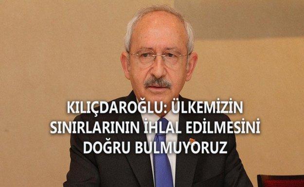 CHP Genel Başkanı Kılıçdaroğlu: Türkiye Mülteciler İçin Elinden Geleni Yaptı