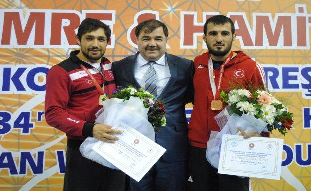 Vehbi Emre Ve Hamit Kaplan Grekoromen Güreş Turnuvası Sona Erdi.