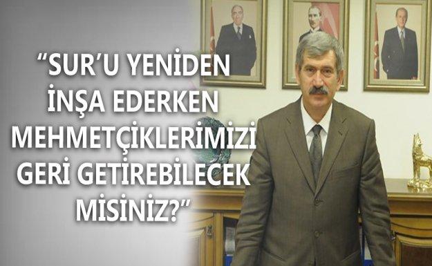 MHP'li Çetin: Mehmetçiklerimizi Geri Getirebilecek Misiniz?