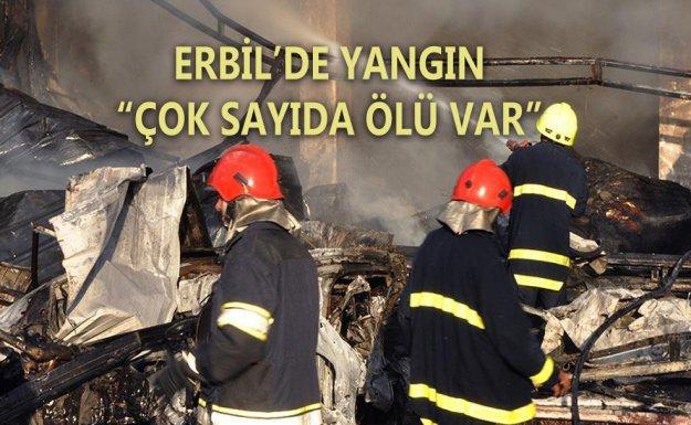 Erbil'de Yangın : 17 Ölü, 10 Yaralı