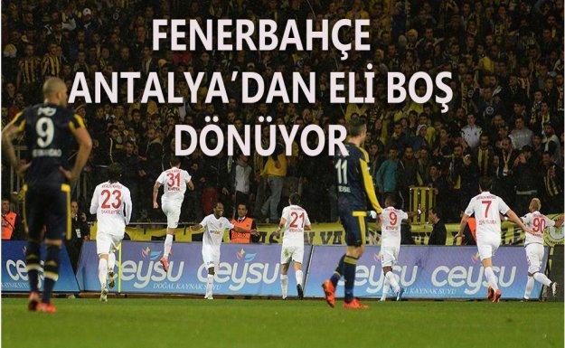 Antalyaspor Fenerbahçe'yi Dağıttı