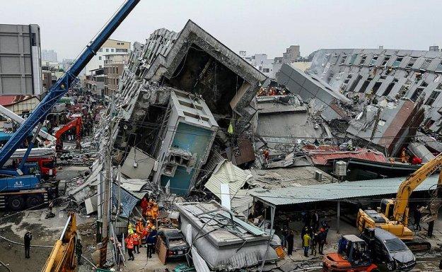 Tayvan'da Deprem: 5 Ölü, 155 Yaralı