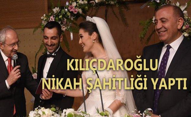 Kılıçdaroğlu, Gürsel Tekin'in Oğlu'nun Nikah Şahitliğini Yaptı