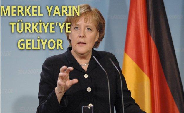 Almanya Başbakanı Merkel Yarın Ankara'ya Geliyor
