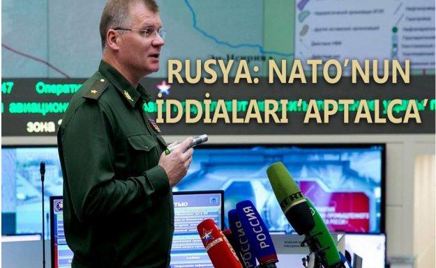 Rusya NATO'nun İddialarını