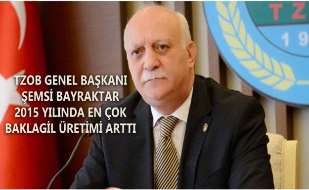 TZOB Genel Başkanı Şemsi Bayraktar : Baklagil Üretimi Arttı