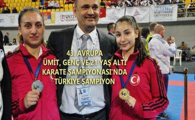 Türkiye Karate'de Şampiyon
