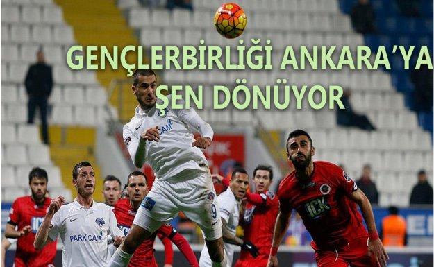 Gençlerbirliği Deplasmanda  Kasımpaşaspor'u devirdi