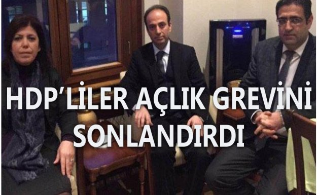 HDP'liler Açlık Grevine Son Verdi