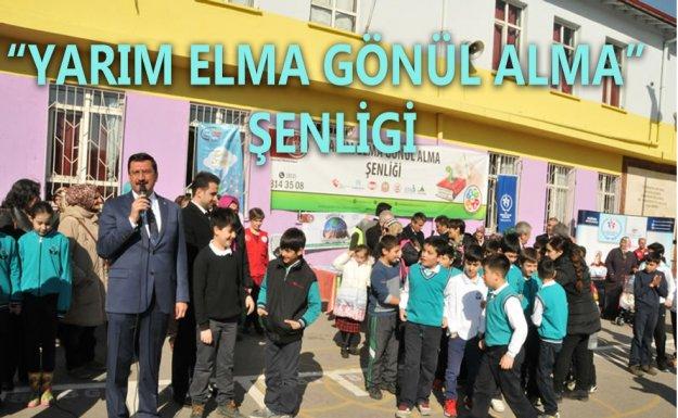Başkan Mustafa Ak Çocuklarla Mendil Kapmaca Oynadı