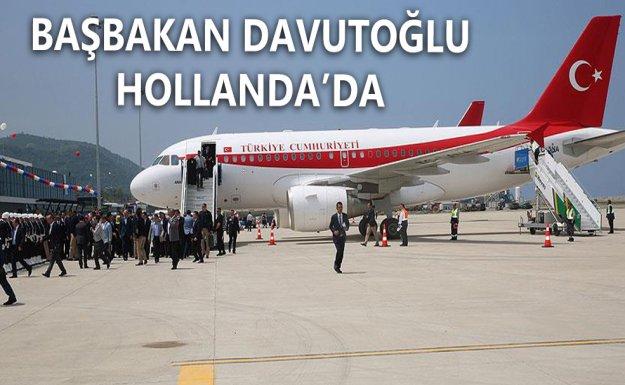 Başbakan Davutoğlu Hollanda'da