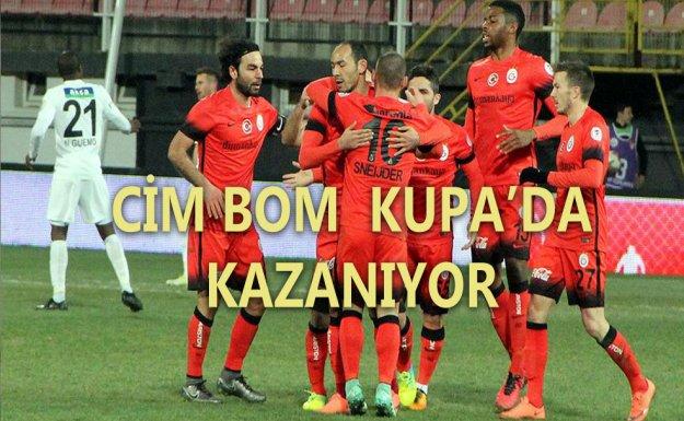 Galatasaray Kupa'da Akhisar Belediyespor'u 2-1 Yendi