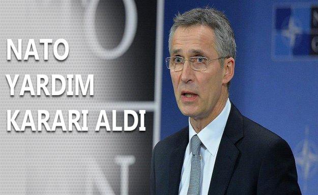 NATO Sığınmacı Krizinde Yardım Kararı Aldı