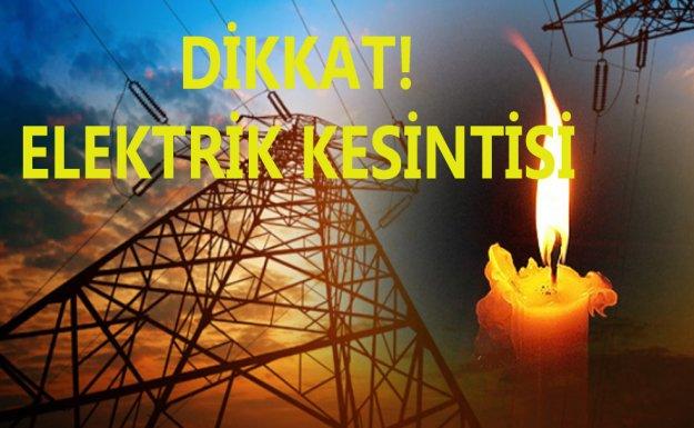 İstanbul'un Anadolu Yakasında Elektrik Kesintisi