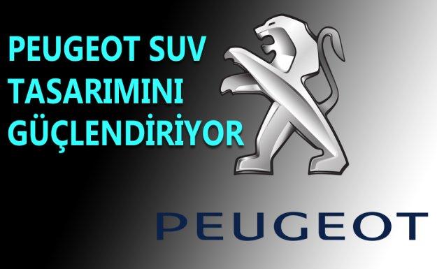 Peugeot SUV Tasarımını Güçlendiriyor