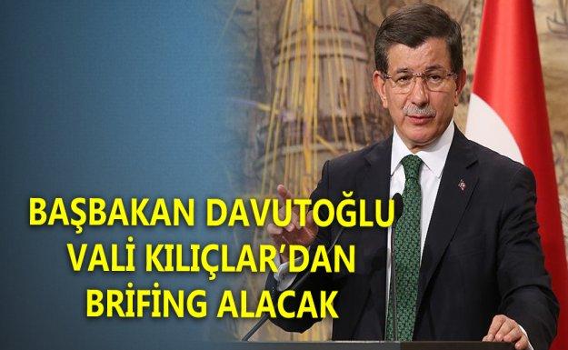Davutoğlu Brifing Alacak