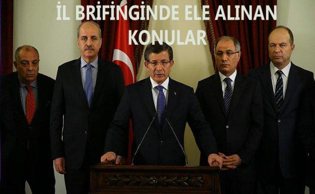 Başbakan Davutoğlu: 'Yeni bir güvenlik anlayışıyla meseleyi ele alacağız'