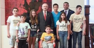 Kılıçdaroğlu TEOG Şampiyonlarıyla Buluştu