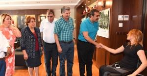 Başkan Çetin Personelle Bayramlaştı