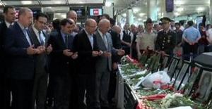 Cumhurbaşkanı Erdoğan Atatürk Havalimanında İncelemelerde Bulundu