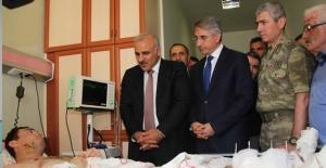 Vali Murat Zorluoğlu'ndan Terör Gazilerine Geçmiş Olsun Ziyareti
