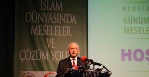 Kılıçdaroğlu'ndan İslam Dünyası Sorunlarına Dört Halkalı Çözüm